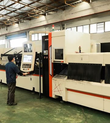Rong Yu's Advantages:Laser tube cutting, ED coating, iron processing, milling machine processing